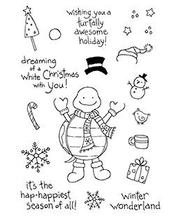 Snow Turtle Clear Stamp Set 10997MC