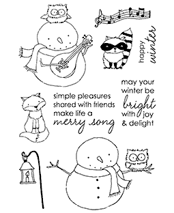 Snowy's Woodland Pals Clear Stamp Set 11137MC