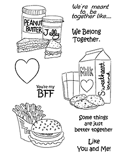 Better Together Clear Stamp Set 11226MC