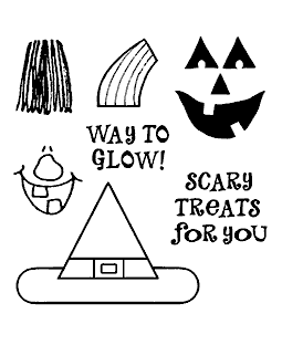 Witch & Jack Maker Clear Stamp Set 10945SC