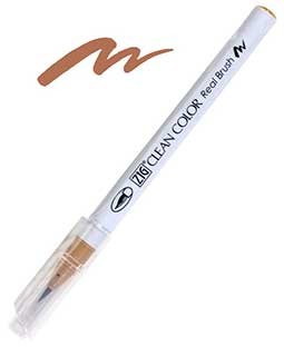 ZIG Clean Color Real Brush, Beige - RB6000AT-072
