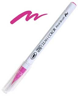 ZIG Clean Color Real Brush, Dark Pink - RB6000AT-027