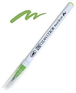 ZIG Clean Color Real Brush, Light Green - RB6000AT-041