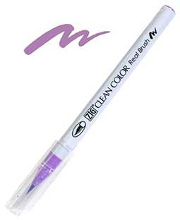 ZIG Clean Color Real Brush, Light Violet - RB6000AT-081