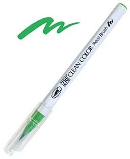 ZIG Clean Color Real Brush, May Green - RB6000AT-047