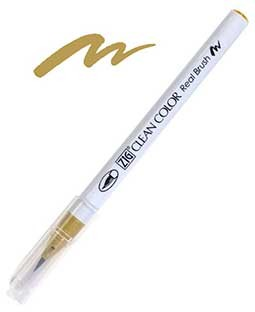 ZIG Clean Color Real Brush, Ochre - RB6000AT-063