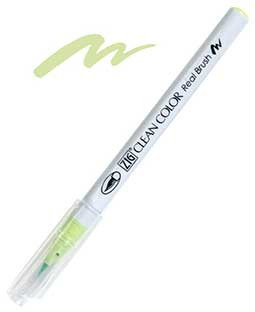 ZIG Clean Color Real Brush, Pale Green - RB6000AT-045