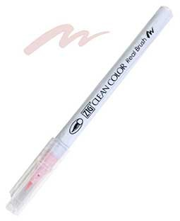 ZIG Clean Color Real Brush, Pale Pink - RB6000AT-028