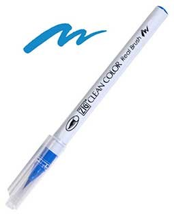 ZIG Clean Color Real Brush, Persian Blue - RB6000AT-032