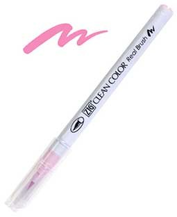 ZIG Clean Color Real Brush, Sugared Almond Pink - RB6000AT-200