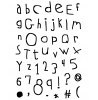 Quirky Alphabet Clear Stamp Set 11438MC