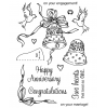 Birds & Bells Clear Stamp Set 11106MC