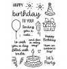 Birthday Smiles Clear Stamp Set: 11404MC