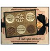 Candy Box Messages Clear Stamp Set - 11329LC