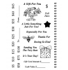 Gift Card Clear Stamp Set 11232MC