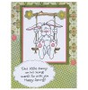 Janie Miller Bunny #1 Clear Stamp Set - 11036MC