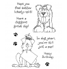 Janie Miller Delightful Dogs #1 Clear Stamp Set - 10977MC