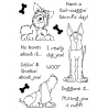 Janie Miller Delightful Dogs #2 Clear Stamp Set - 10978MC