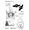 Janie Miller Halloween Hilda Clear Stamp Set 10920MC