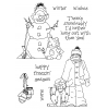 Janie Miller Winter Pals Clear Stamp Set - 11277MC