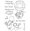 Maria Woods Balloon Kitties Clear Stamp Set - 11255MC