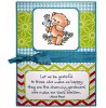 Maria Woods Bouquet Chickpea Bear Clear Stamp Set - 11302MC