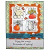 Maria Woods Easter Bunny Delights Clear Stamp Set - 11297MC