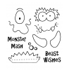 Monster Maker Clear Stamp Set 11042SC