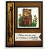Nancy Baier Bear & Fawn Clear Stamp Set 11281MC