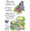 Nancy Baier Butterflies & Garden Clear Set 11174MC