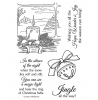Nancy Baier Christmas Sights & Sounds Clear Stamp Set 11209MC