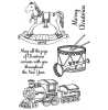 Nancy Baier Christmas Toys Clear Stamp Set 11262MC