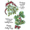 Nancy Baier Christmas Greenery Clear Stamp Set 11261MC