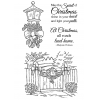 Nancy Baier Decorated For Christmas Clear Stamp Set 11210MC
