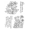 Nancy Baier Forest Flowers Clear Stamp Set 11285MC