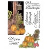 Nancy Baier Pumpkin Scenes Clear Stamp Set 11132MC