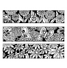 Nancy Baier Small Blooms & Butterflies Cling Mount Stamp Set CLS-003