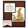 Nancy Baier Squirrel & Rabbit Clear Stamp Set 11286MC
