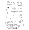 Nancy Baier Tea Time Elements Clear Stamp Set 11147MC