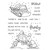Frosty Fun Penguins Clear Stamp Set: 11420MC