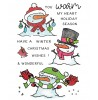 Warm & Wonderful Snowmen Clear Stamp Set: 11421MC
