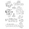 Ronnie Walter Baby Boy Clear Stamp Set 10915MC