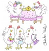 Ronnie Walter Girlfriend Chicks Clear Stamp Set 11290SC
