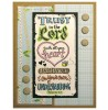 Shirley Ng-Benitez Trust In The Lord Clear Stamp Set - 11344SC
