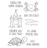 Tammy DeYoung Beach Critters Clear Stamp Set 11250MC