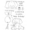 Tammy DeYoung Birthday Elephant Clear Stamp Set 11024MC