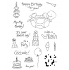 Tammy DeYoung Birthday Turtle Clear Stamp Set 10917MC