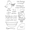 Tammy DeYoung Chicken Soup Clear Stamp Set 11170MC