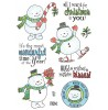 Tammy DeYoung Festive Snowguys Clear Stamp Set 11189MC