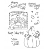 Tammy DeYoung Gobbles Turkey Clear Stamp Set 10918MC